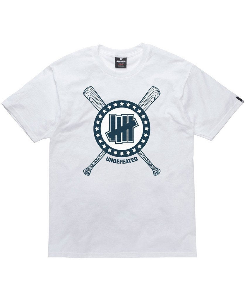 UNDEFEATED GROUND RULE TEE // WHITE-The Collateral