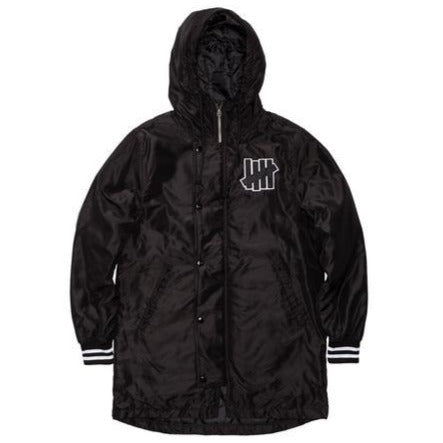 UNDEFEATED SIDELINE PARKA // BLACK-The Collateral