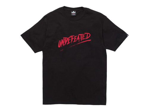 UNDEFEATED VIOLATOR TEE // BLACK-The Collateral
