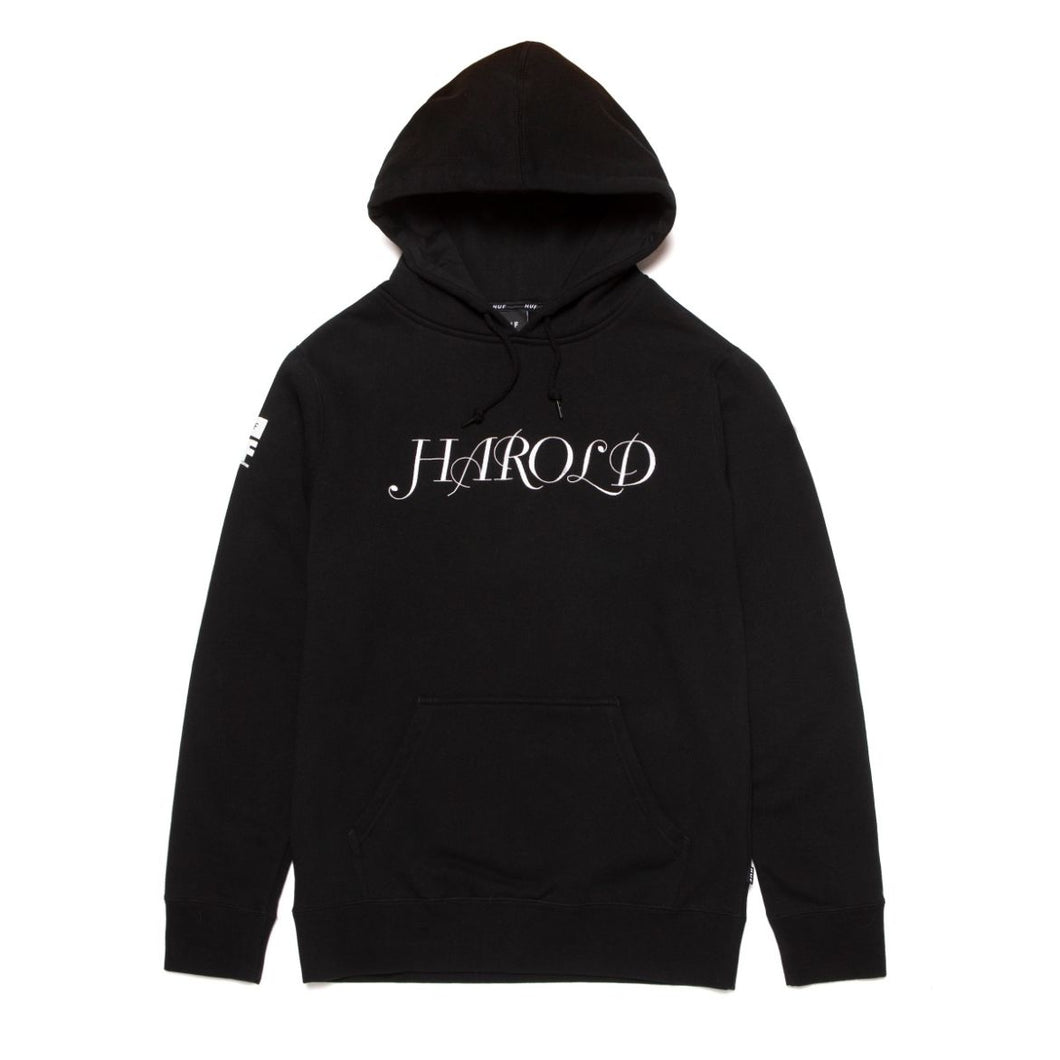 HUF HAROLD TRIBUTE P/O HOOD // BLACK