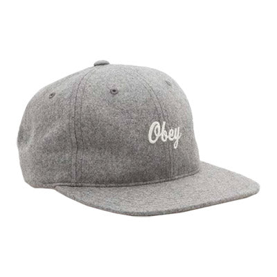 OBEY WALTER HAT // HEATHER GREY