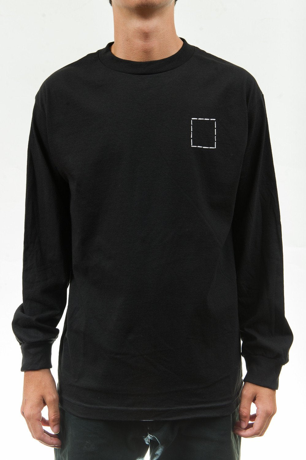 WKND Borderline Long Sleeve // BLACK-The Collateral
