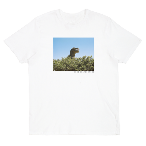 WKND DINO TEE // WHITE-The Collateral