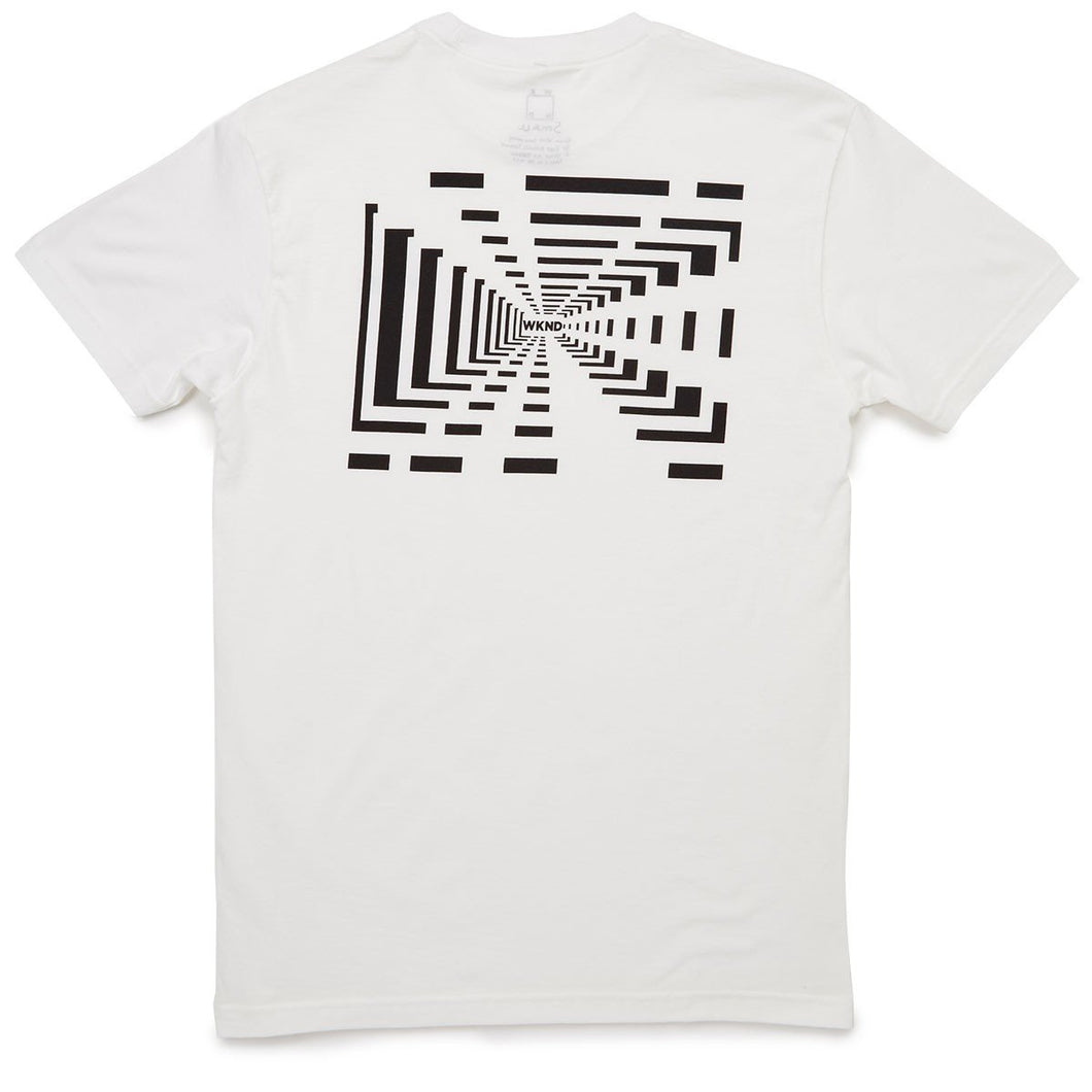 WKND Tunnel Vision Tee // WHITE-The Collateral