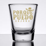 Ricardo Arjona Merch Shot Glasses