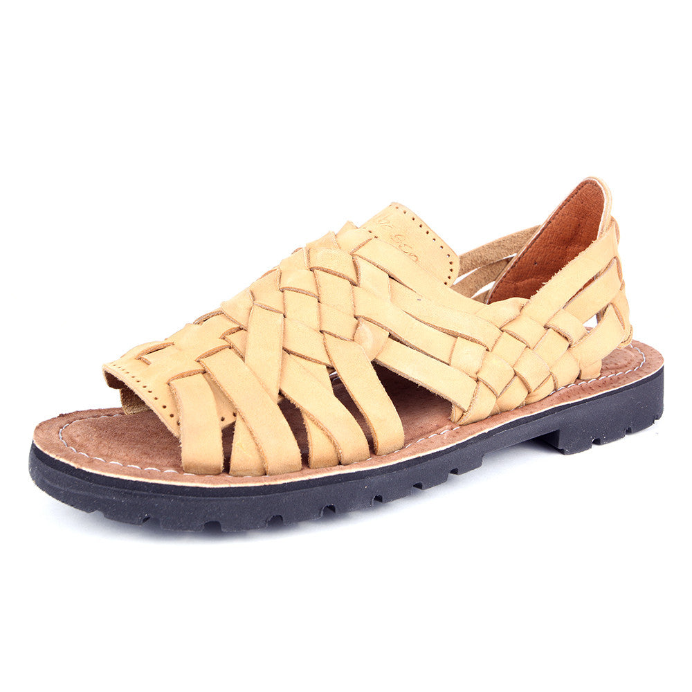Natural Colored Brown Sandals