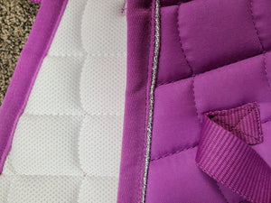 Horze All Purpose English Saddle Pad, Lavender