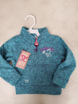 Cowgirl Hardware Cadet Sweater Teal