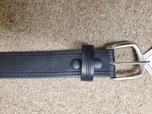 Marc Wolf Leather Belts 221, Black