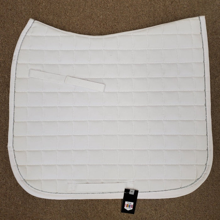 Horze Dressage Saddle Pad, White