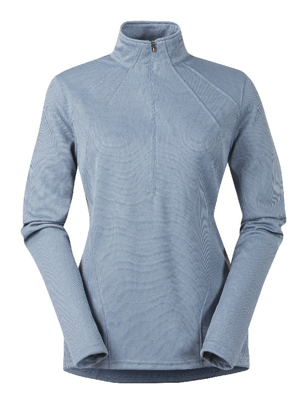 Kerrits Chill chaser Zip Neck - Ash Blue