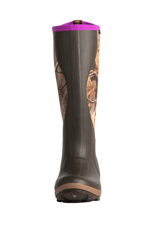 Noble Outfitters Mud's Women's Cold Front Camo Rubber chore boot