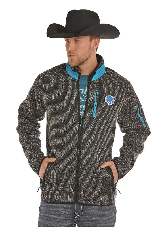 Powder River Outfitters Melange Knit Sweater Jacket