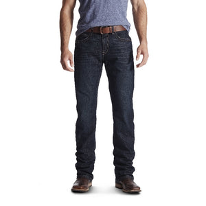 Ariat Mens M4 Rebar Low Rise Durastretch Edge Bodie Boot Cut Jeans
