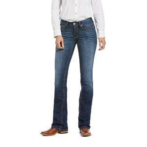 Ariat R.E.A.L. Perfect Rise Stretch Rosa Boot Cut Denim Jean