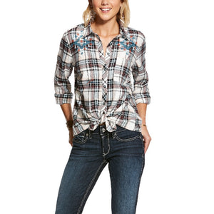 Ariat R.E.A.L. Big Springs LS Dress Shirt, Plaid