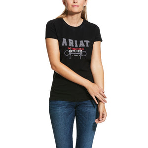 Ariat Flock Varsity Logo T-Shirt