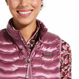 Ariat Ideal 3.0 Down Vest, Rose Cocoa