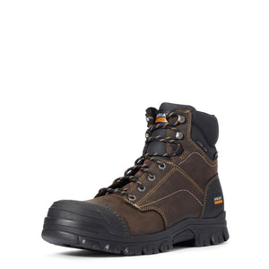 "Ariat Treadfast 6"" Waterproof Steel Toe Work Boot"