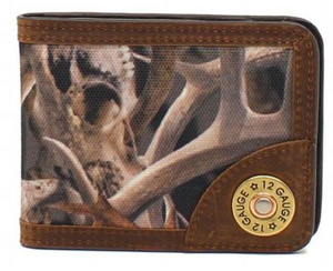 Ariat Bi-Fold Wallet with Money Clip, Camo