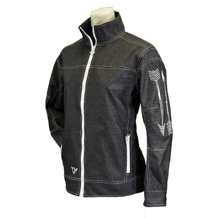 Cowgirl Hardware Arrow Tech Woodsman Jacket, Charcoal
