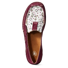Women's Ariat Cruiser-Cowgirl Print Burgundy