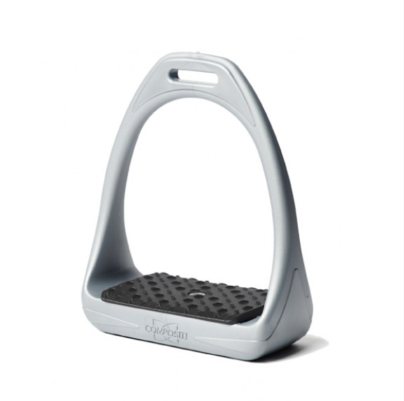 Compositi Reflex 3D Swivel Action Wide Track Stirrups, Grey/Black