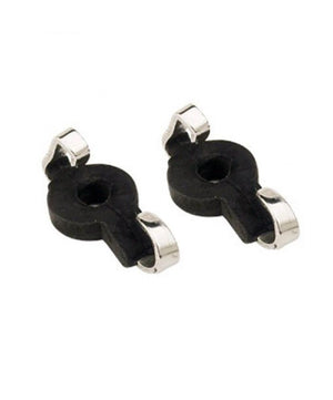 Professional Curb Chain Bit Hooks, Rubber Covered