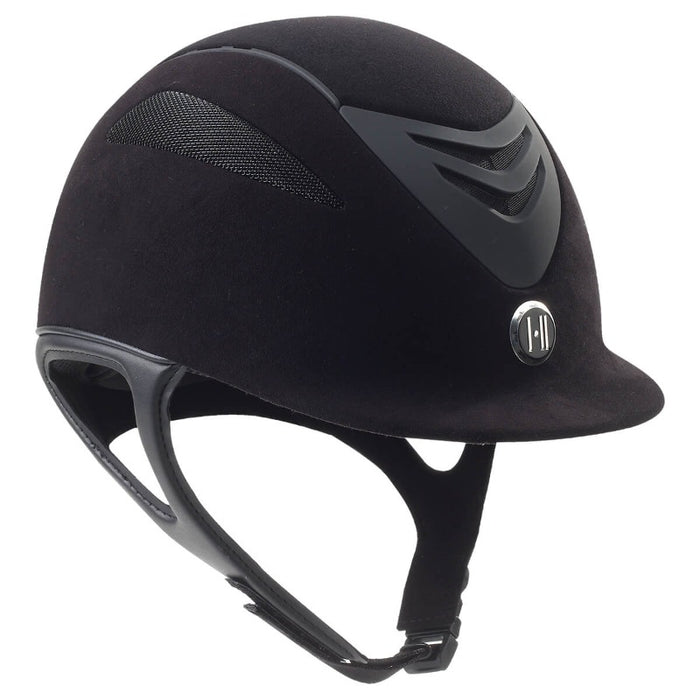 One-K Defender Helmet, Black Suede