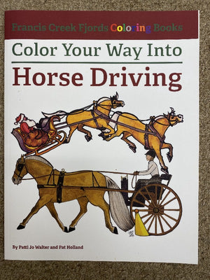 Francis Creek Fjords Coloring Book, Horse Driving