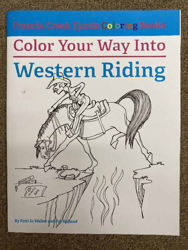 Francis Creek Fjords Coloring Book, Western Riding