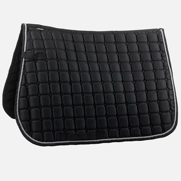 Horze All Purpose English Saddle Pad, Black