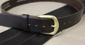 Marc Wolf Leather Belt 202 - Brown
