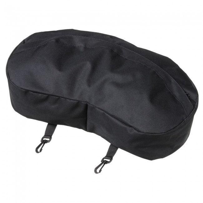 Nylon Cantle Bag, Black