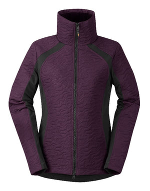 Kerrits Unbridled Horse Quilted Jackets, Boysenberry