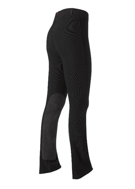 Kerrits Microcord Knee Patch TALL Bootcut Breech, Black SAMPLE GROUP