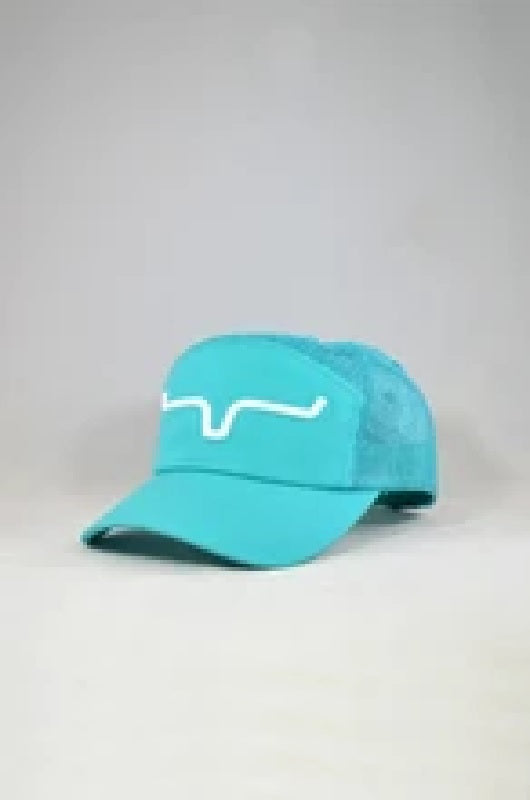 Kimes Ranch Factory Air Hybrid Cap-Teal SALE