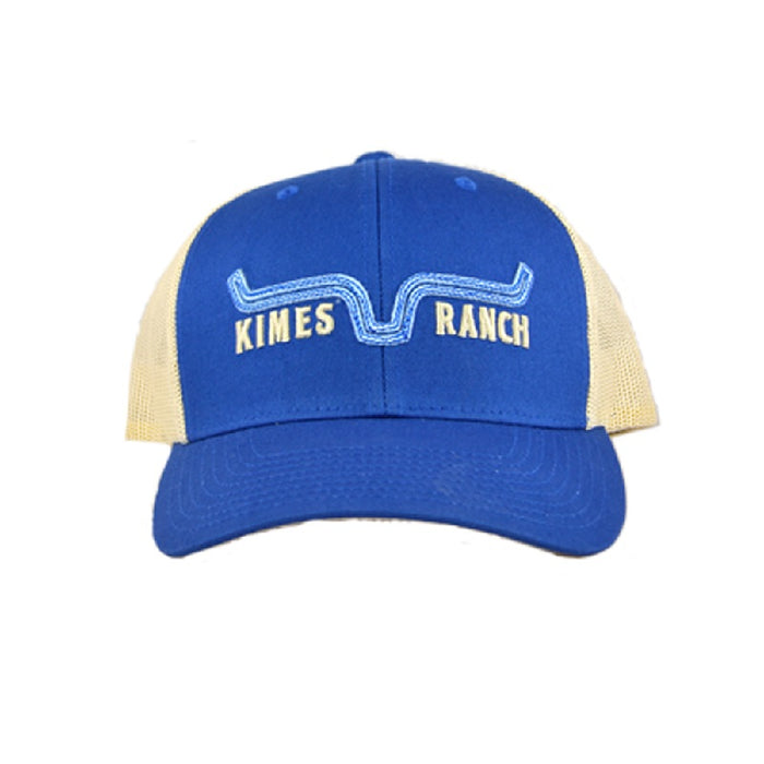 Kimes Ranch Oxbow Trucker Cap-Blue SALE