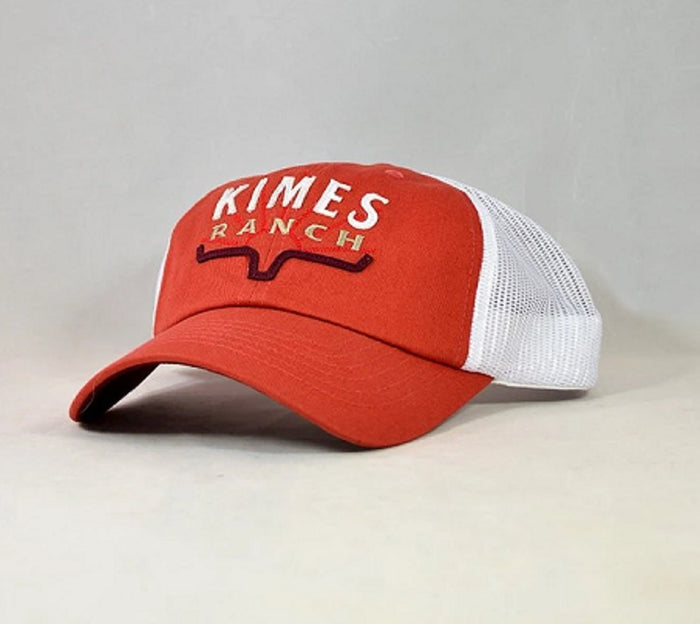 Kimes Ranch Southwest Trucker Cap-Red SALE