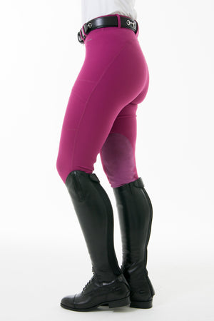 Noble Equestrian Balance Riding Tights- Pink