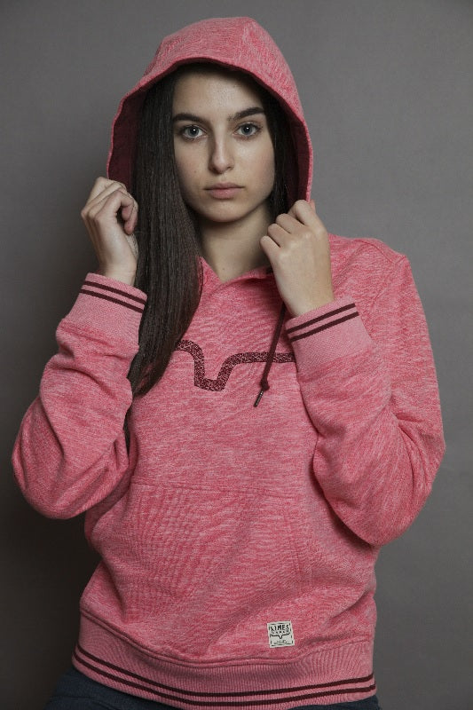 Kimes Ranch Scout Hoodie- Pomegranate SALE
