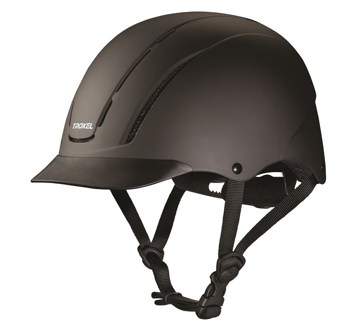 Troxel Spirit Helmet, Black Duratec