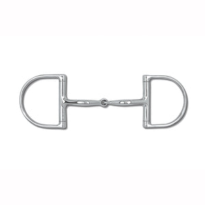 Myler Level 1 Single Joint Snaffle (MB 09) Dee Bit