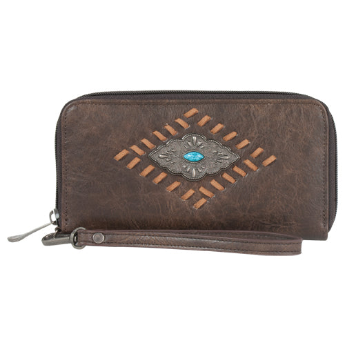 Justin Wallet, Cognac with Whip Stich & Concho
