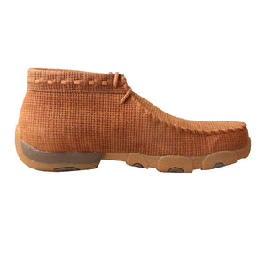 Mens Twisted X Chukka Driving Moc - Saddle