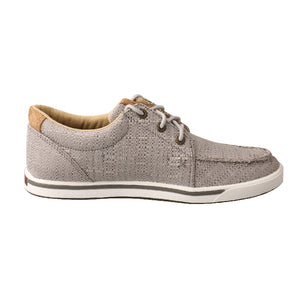 NEW! Twisted X Hooey Loper - Light Grey
