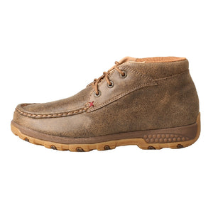 Twisted X Womens Chukka Driving Moc with CellStretch