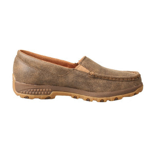 NEW! Twisted X Slip - On Driving Moc with CellStretch