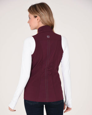 Noble Outfitters All-Around Softshell Vest Burgandy (XSMALL)