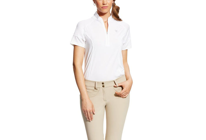 Ariat Cambria Jersey Tek Top White